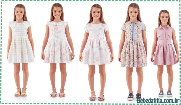 Vestido Infantil Modelos da Grife Fendi